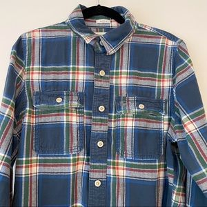 Abercrombie and Fitch Plaid Button Up